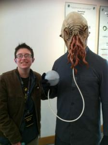 Me and Ood Dr Who Convention